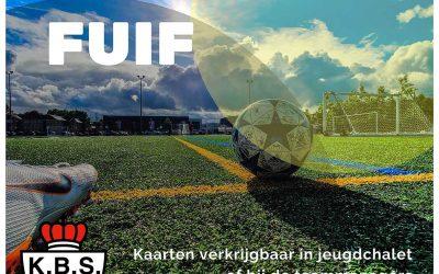 Fuif ten voordele van de Jeugdopleiding K. Berchem Sport
