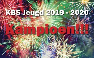Jong Berchem (Beloften) kampioen 2019-2020!!!