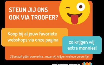 Help je club via Trooper, zonder extra kosten!!