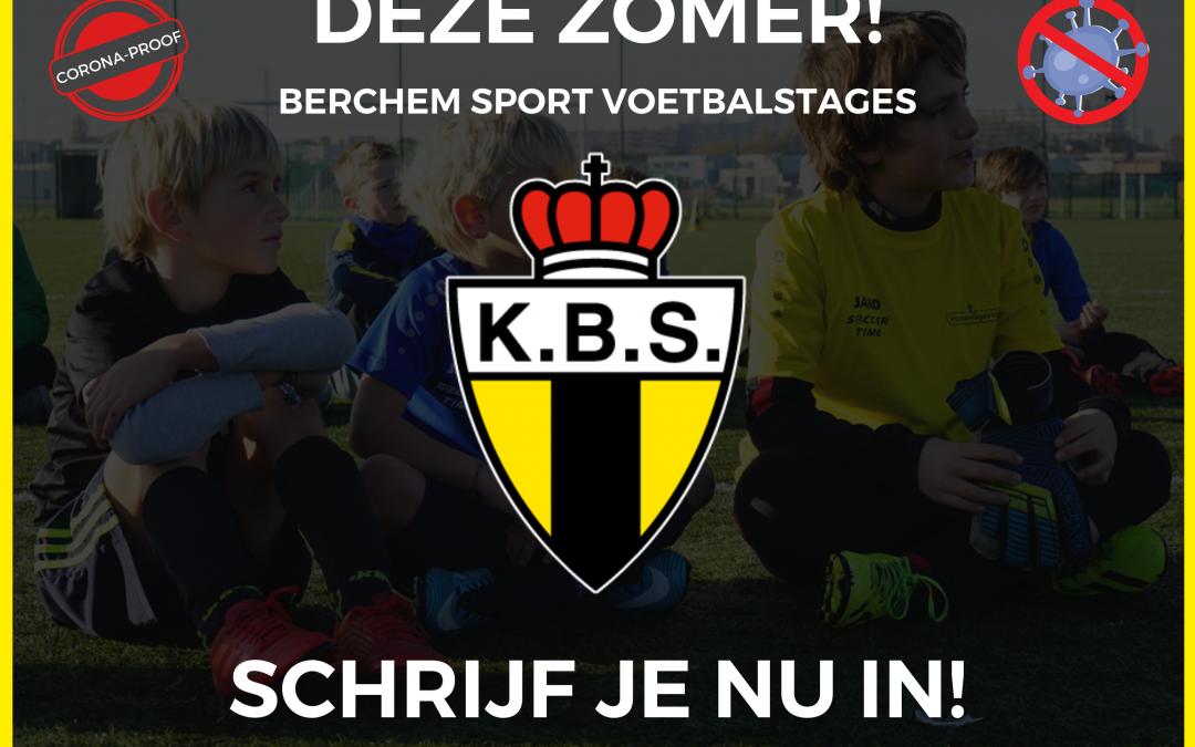 Voetbalstage K. Berchem Sport