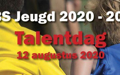 Talentdag woensdag 12/08