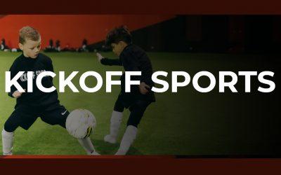 Speciale dank voor nieuwe Sponsor Kickoff Sports