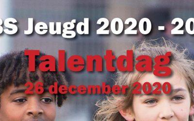 Open Talentdag 26/12/2020