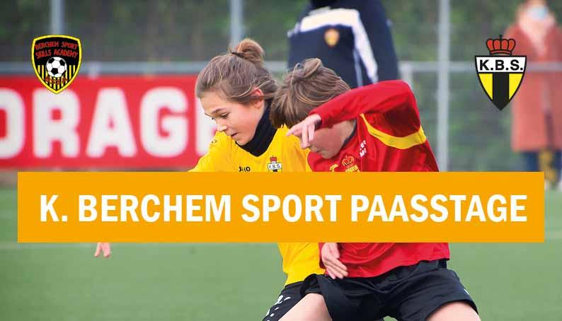 Paasstage K. Berchem Sport